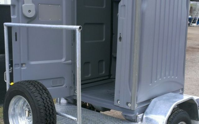 Tow-Yourself Single Shower Trailer